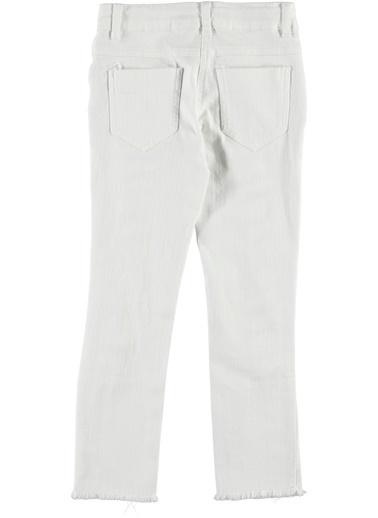 Panço Pantolon Beyaz